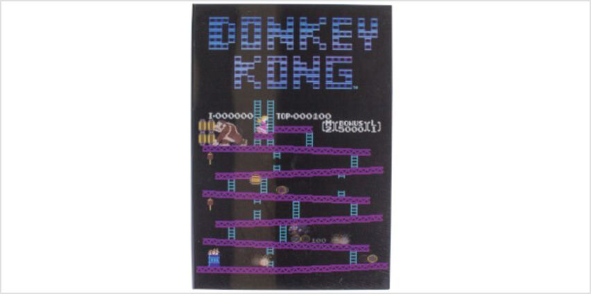 Donkey Kong Lenticular Notebook from I Want One Of Those