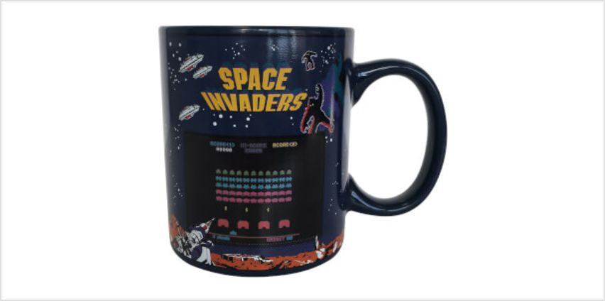 Space Invaders Heat Change Mug from I Want One Of Those