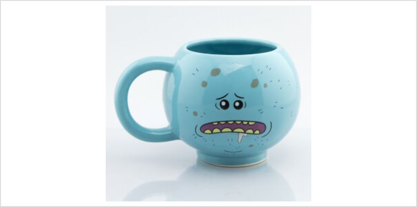 Rick and Morty Mr. Meeseeks 3D Mug from I Want One Of Those
