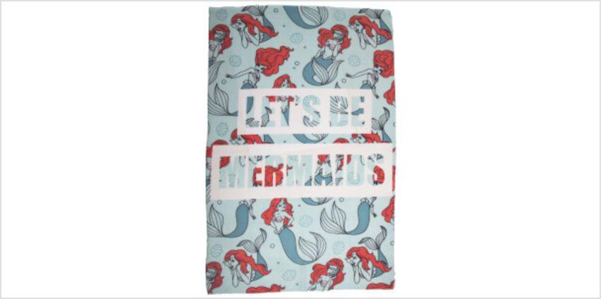 Little Mermaid Oceanic Fleece Blanket from I Want One Of Those