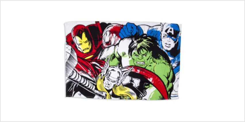 Marvel Comics Fleece Blanket from I Want One Of Those