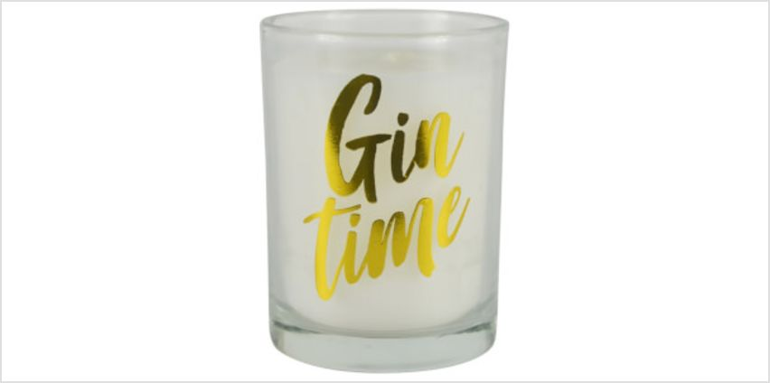 Gin Time Candle in Gift Box from I Want One Of Those