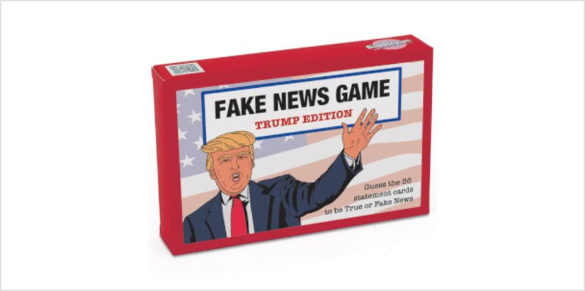 Fake News Trump Edition Card Game from I Want One Of Those