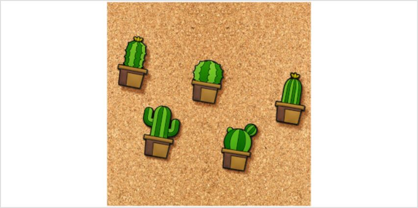 Cactus Push Pins from I Want One Of Those