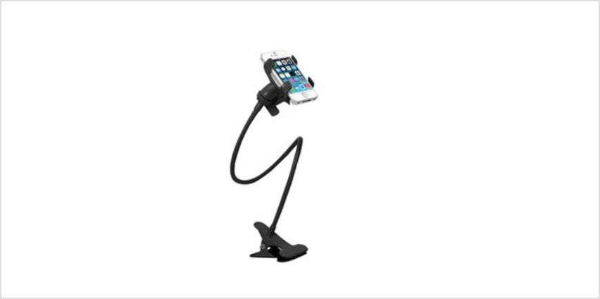 Lazy Bracket Desktop Smartphone Holder from I Want One Of Those