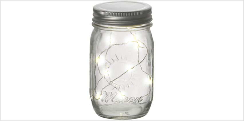 Parlane Jar with LED Lights from I Want One Of Those