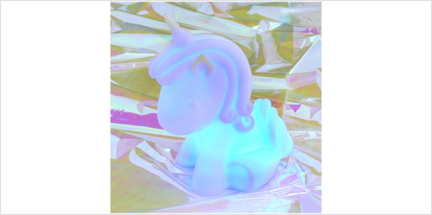 Colour-Changing Unicorn Mood Light from I Want One Of Those