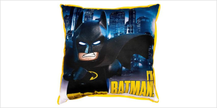LEGO Batman Movie: Hero Cushion from I Want One Of Those
