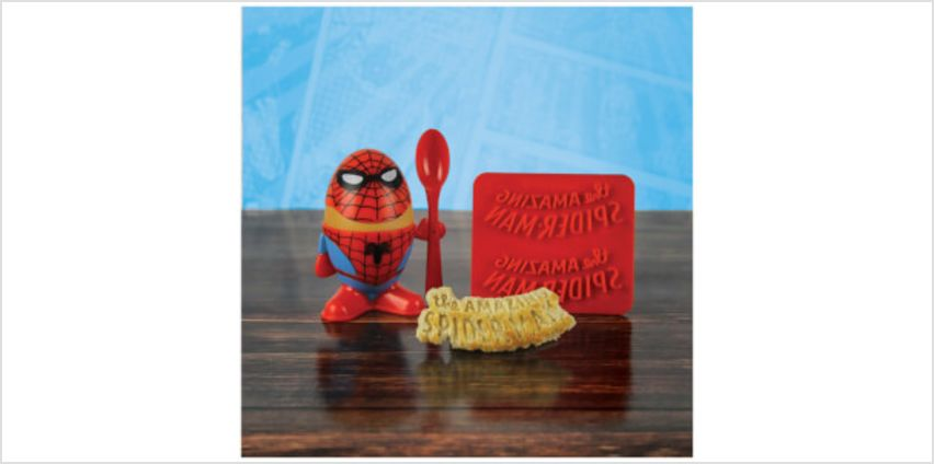 Marvel Comics Spider-Man Egg Cup from I Want One Of Those
