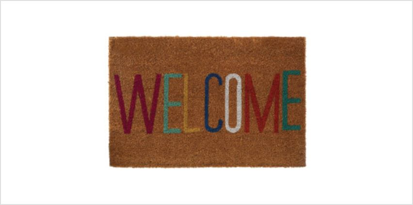 Welcome Doormat from I Want One Of Those