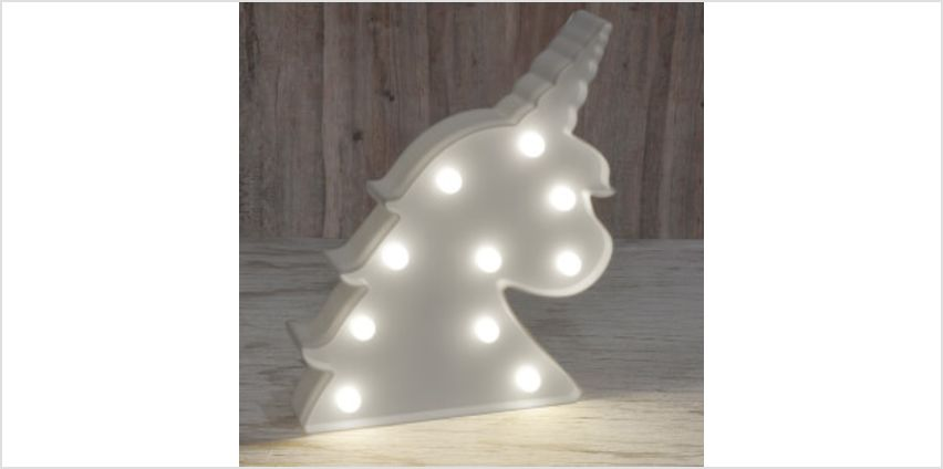 Unicorn Marquee Light from I Want One Of Those