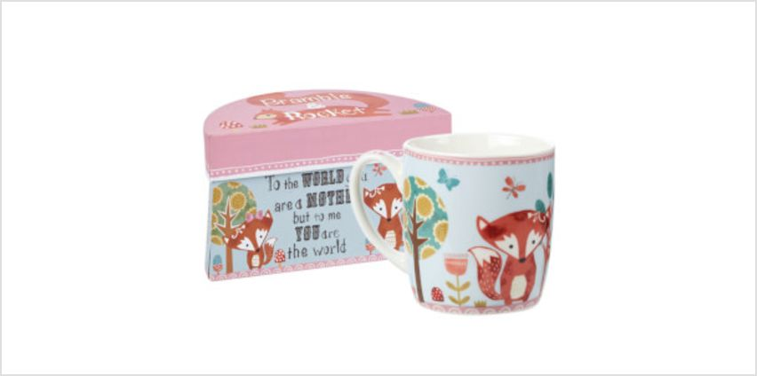 Bramble and Rocket Mother Boxed Mug from I Want One Of Those