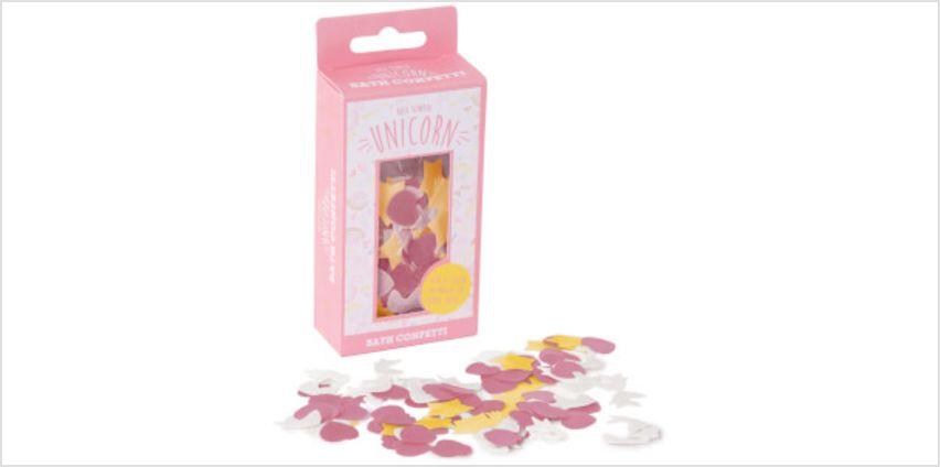 Unicorn Bath Confetti from I Want One Of Those
