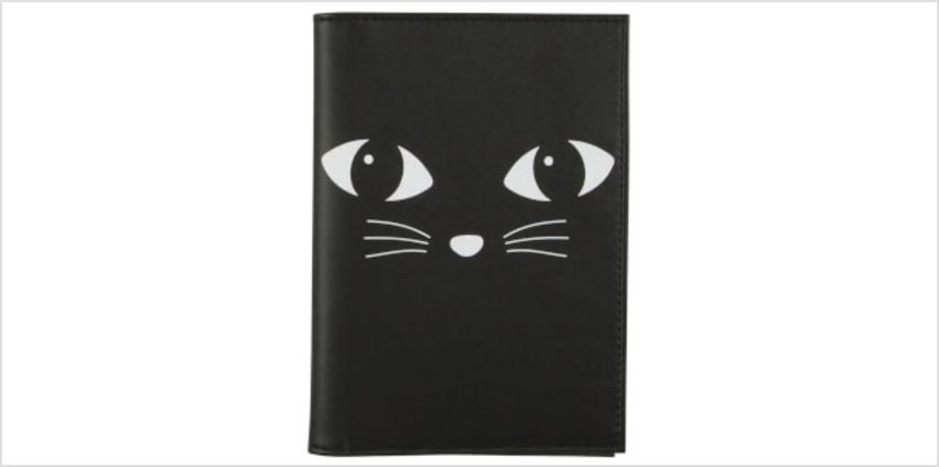 Sass & Belle Black Cat Passport Holder from I Want One Of Those