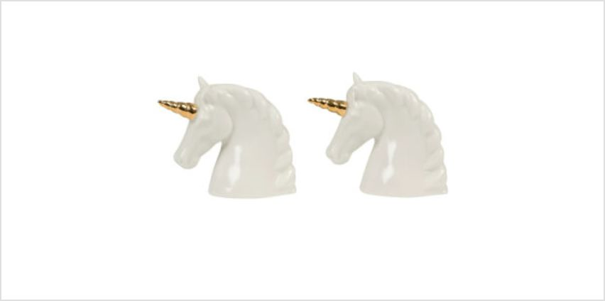 Sass & Belle Unicorn Salt and Pepper Shaker Set from I Want One Of Those
