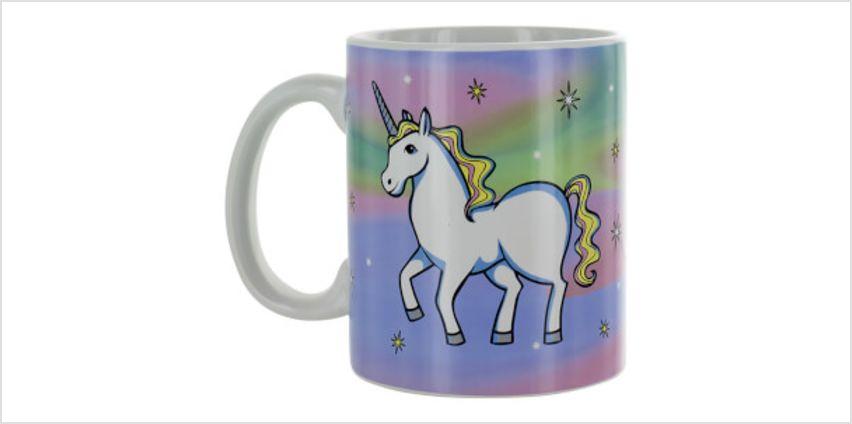 Unicorn Dress Up Mug from I Want One Of Those