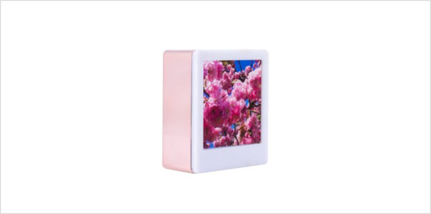 Magnetic Rose Gold Mini Photo Light Box from I Want One Of Those