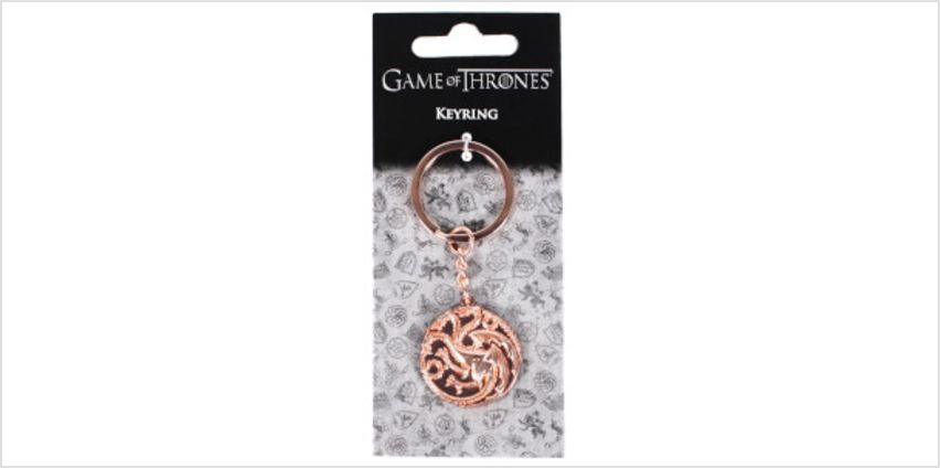Game of Thrones Targaryen Keyring from I Want One Of Those