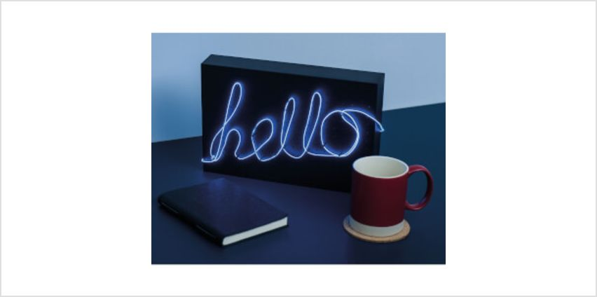 DIY Neon Light from I Want One Of Those