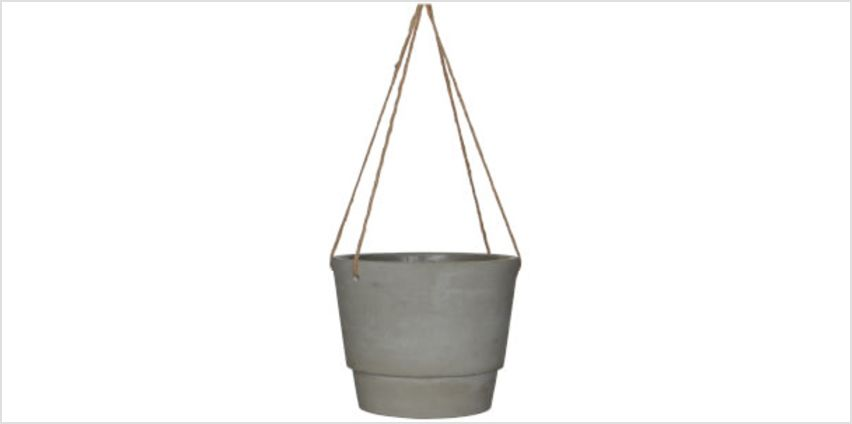 Dax Hanging Pot - Large - Beige from I Want One Of Those