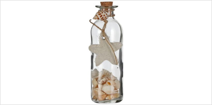 Shells in Bottle Decoration from I Want One Of Those