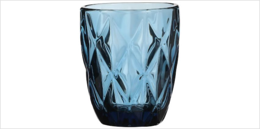 Boulogne Short Glass Tumbler - Blue from I Want One Of Those