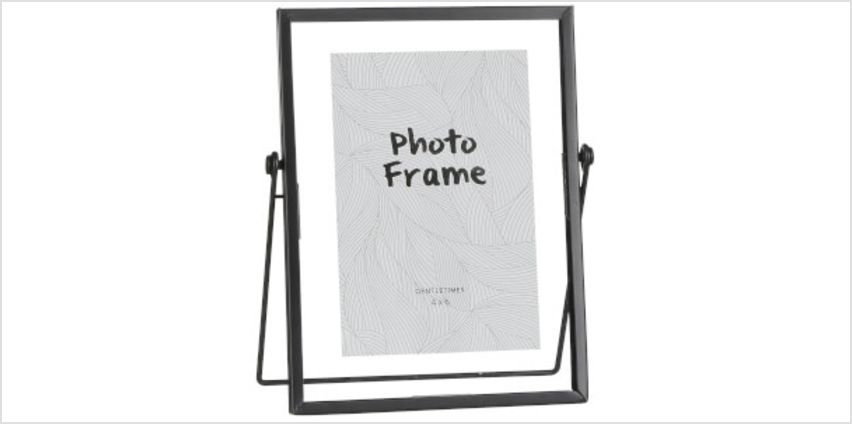 Aimee Medium Photo Frame - Black from I Want One Of Those
