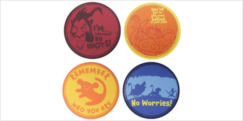 The Lion King Coaster Set from I Want One Of Those