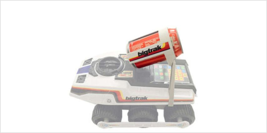 Can Holder for Bigtrak and Bigtrak Junior from I Want One Of Those