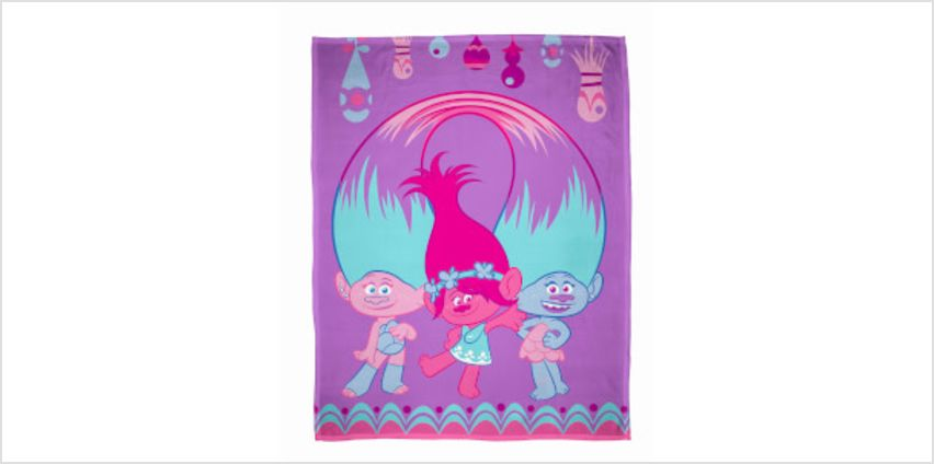 Trolls Glow Polar Fleece Blanket from I Want One Of Those