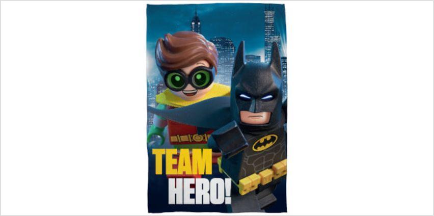 LEGO Batman Movie: Fleece Blanket from I Want One Of Those