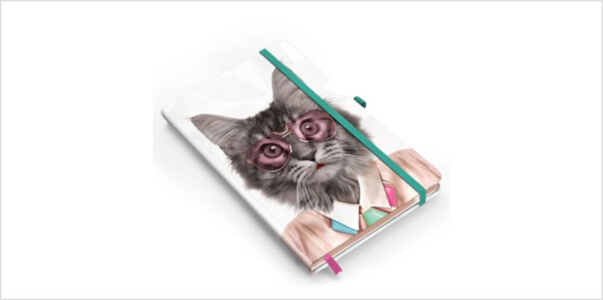 Go Wild Cat Notebook from I Want One Of Those