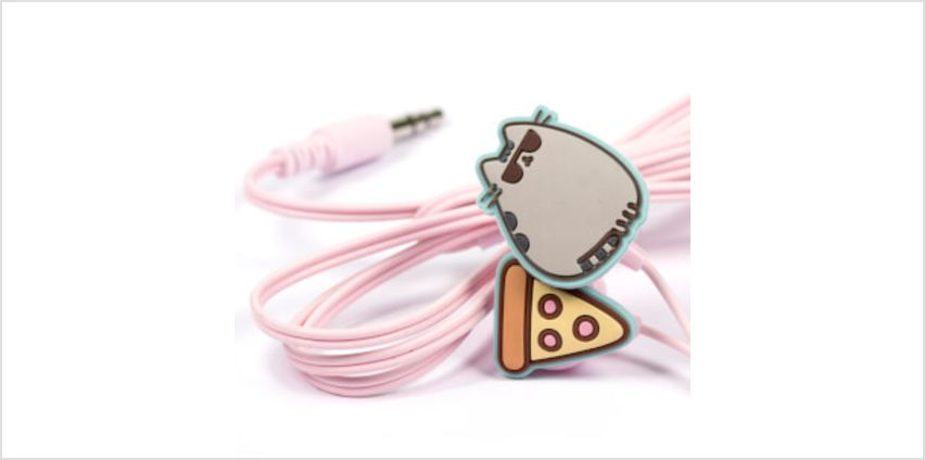 Pusheen Earphones from I Want One Of Those