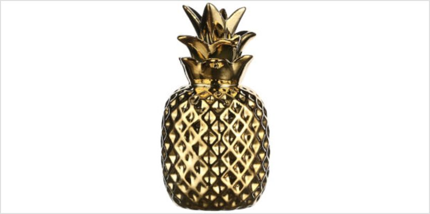 Pineapple Decoration - Gold from I Want One Of Those
