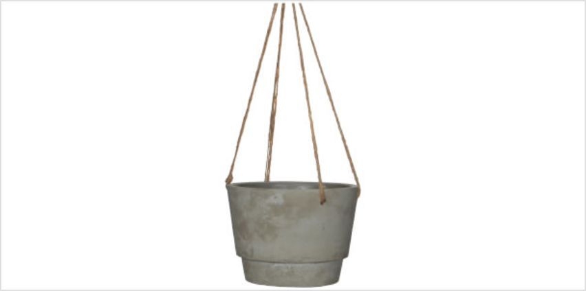 Dax Hanging Pot - Medium - Beige from I Want One Of Those