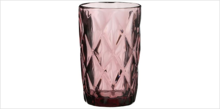 Boulogne Long Glass Tumbler - Purple from I Want One Of Those