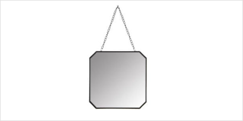 Ginger Square Mirror - Black from I Want One Of Those