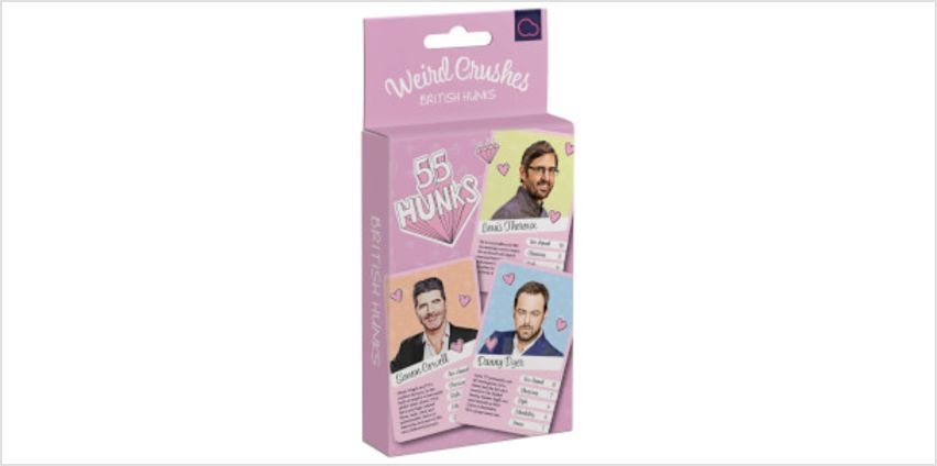 Weird Crushes British Hunks Card Game from I Want One Of Those