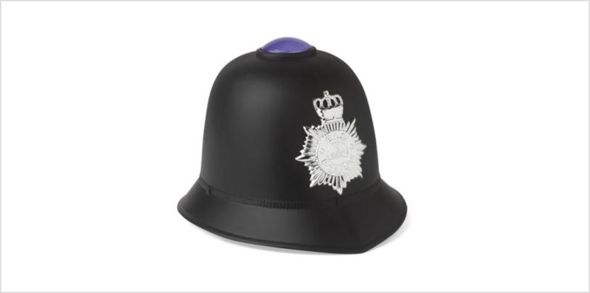 Light and Sound Police Helmet | fancy dress costumes | ELC from Early Learning Center