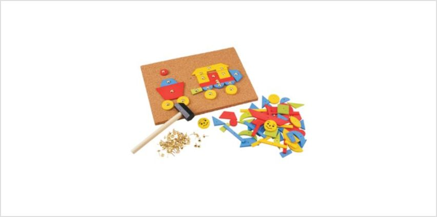 Tap A Shape | craft kits | ELC from Early Learning Center