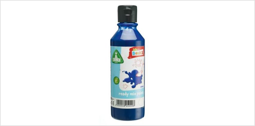 Blue Ready Mix Paint 300ml | art essentials | ELC from Early Learning Center