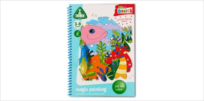 Magic Painting Book | Bits & Basics | ELC from Early Learning Center