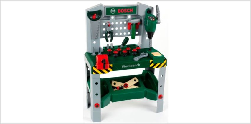Bosch Workbench with Sounds | kids Bosch tools & DIY toys | ELC from Early Learning Center