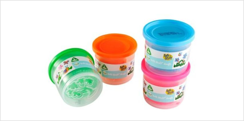 Soft Stuff 4 Bright Tubs | craft tools | ELC from Early Learning Center