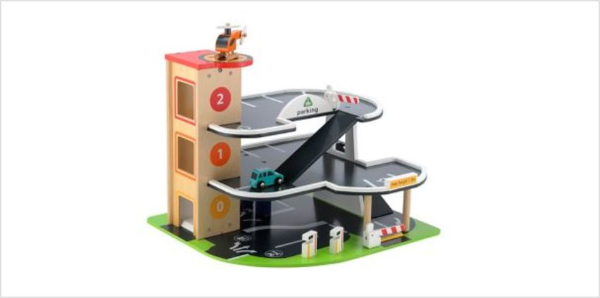 Big City Wooden Garage | garages, wheels & vehicles | ELC from Early Learning Center
