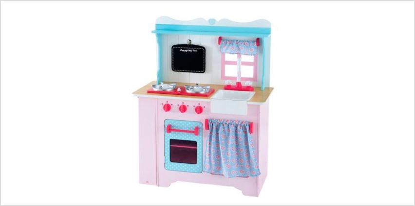 Wooden Farmhouse Kitchen | toy kitchens | ELC from Early Learning Center