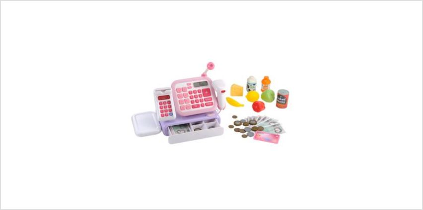 Cash Register - Pink | play food & shopping toys | ELC from Early Learning Center