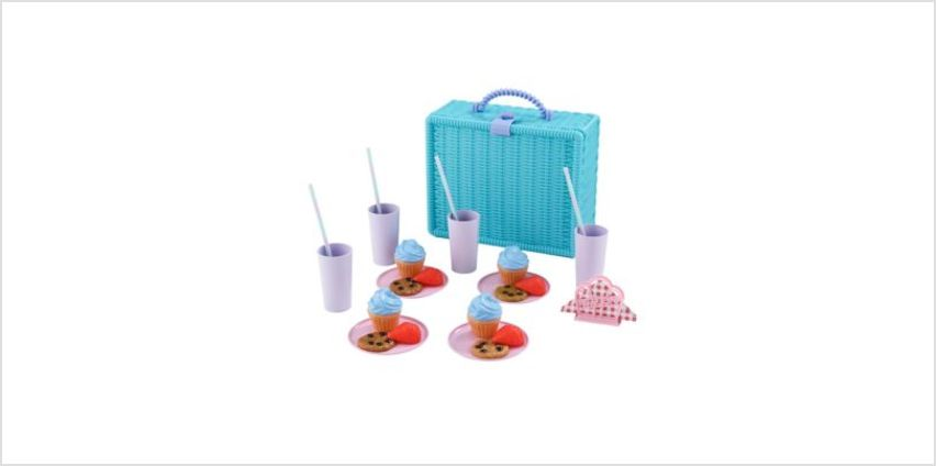 Picnic Hamper for 4 | toy kitchen accessories | ELC from Early Learning Center