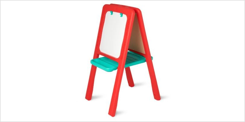 Red Plastic Easel | easels & furniture | ELC from Early Learning Center