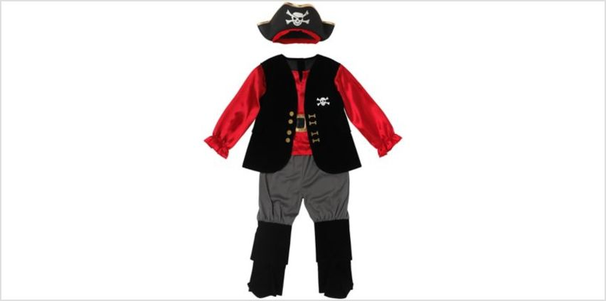 Pirate Captain Outfit | fancy dress costumes | ELC from Early Learning Center